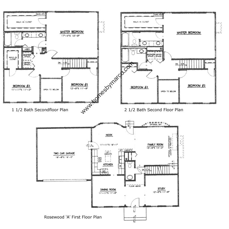 Rosewood model in the northwood trails subdivision in lake for Rosewood house plan