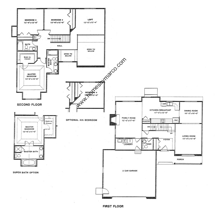 Rosewood model in the woods of antioch subdivision in for Rosewood house plan