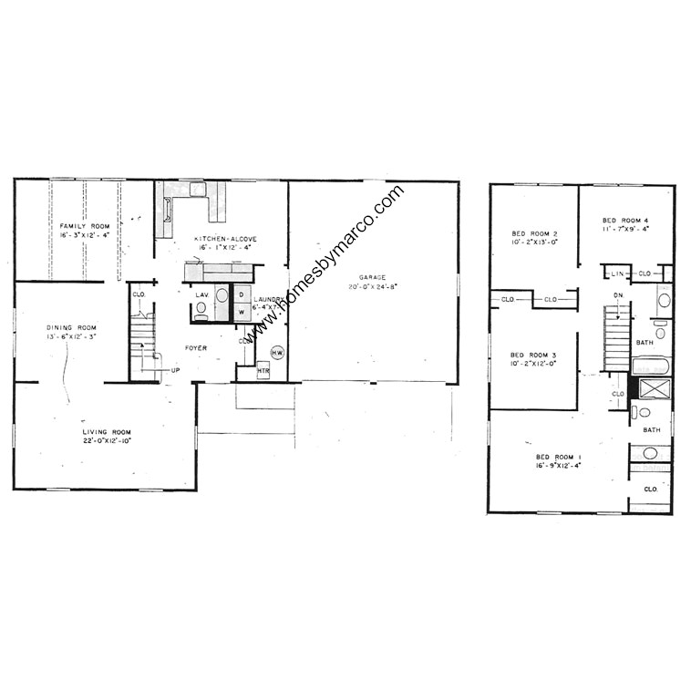 Roxbury model in the strathmore subdivision in buffalo for Homes models and plans