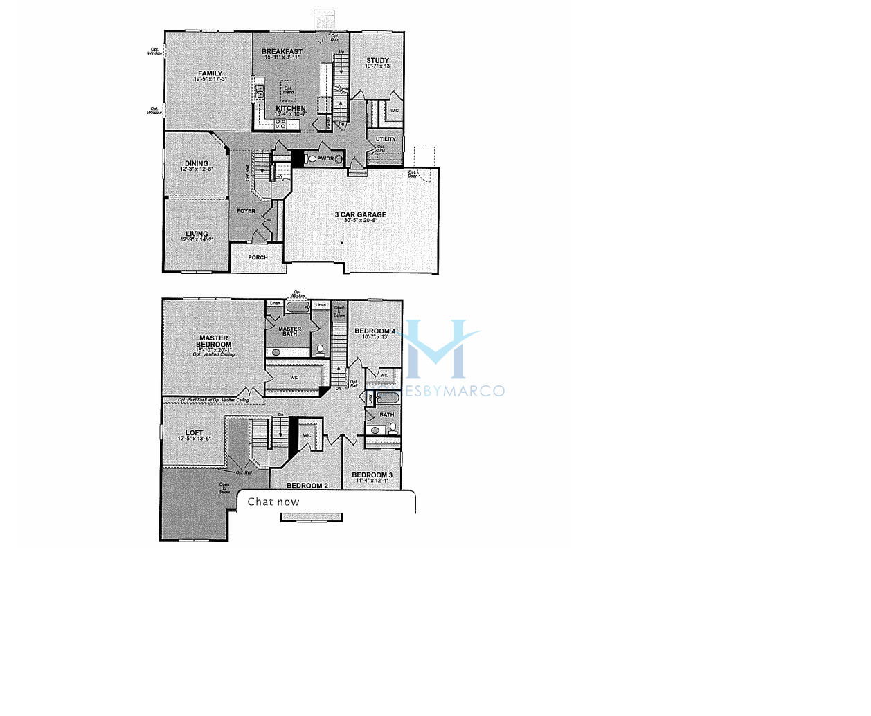 Santa fe model in the ashton pointe subdivision in crystal for Santa fe floor plans