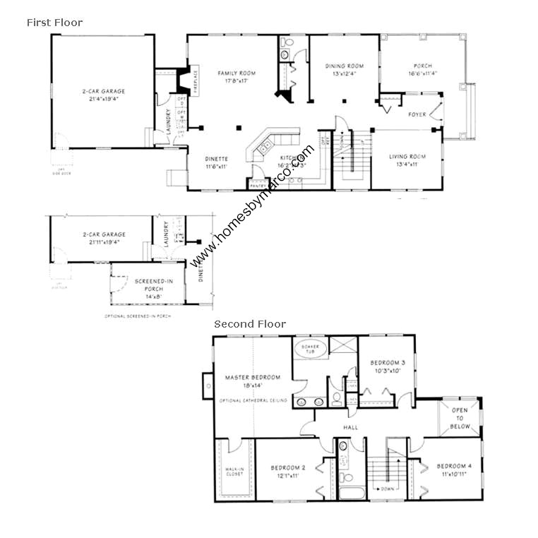 Saratoga model in the grand pointe meadows subdivision in for Saratoga homes floor plans