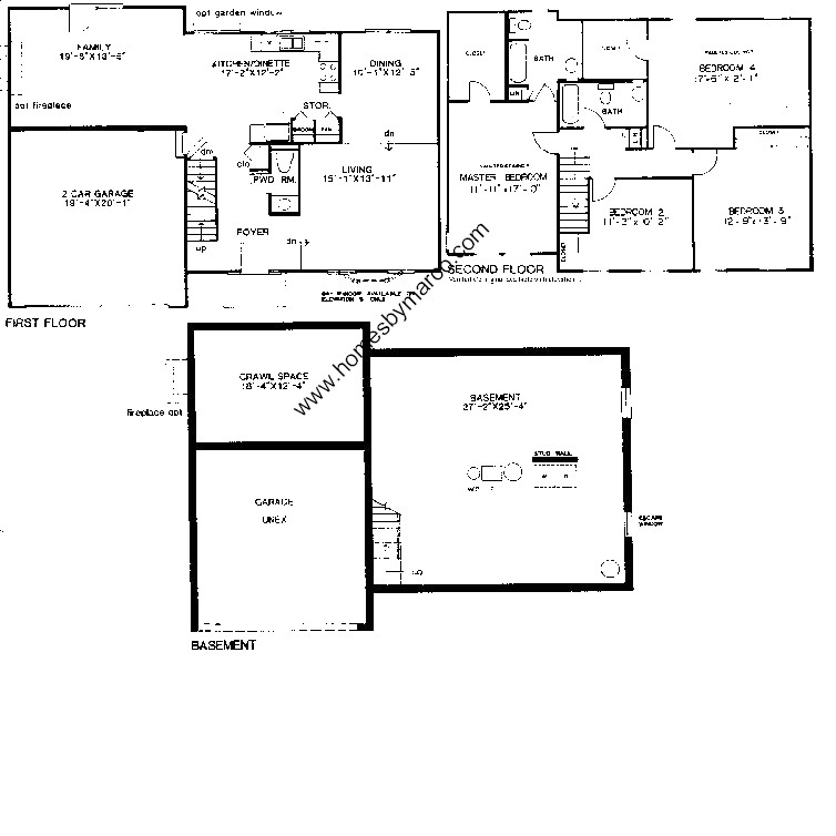 Sheffield Floor Plan Home Design
