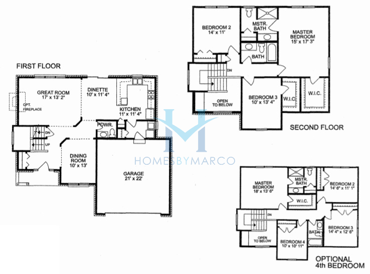 Stage coach model in the sky harbor subdivision in new for The lenox floor plan