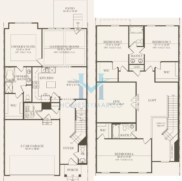Stanton Homes: Stanton Model In The Camberley Club Subdivision In