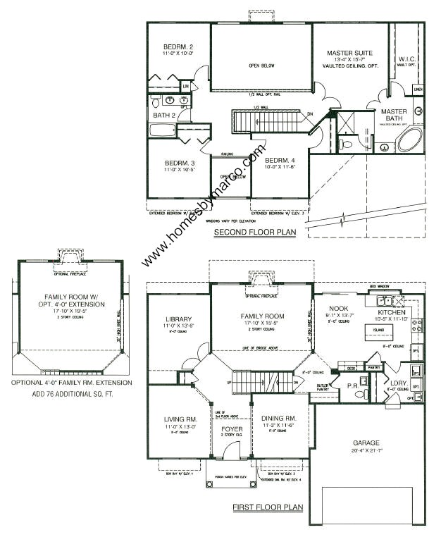 Sterling model in the kensington club subdivision in Model homes floor plans