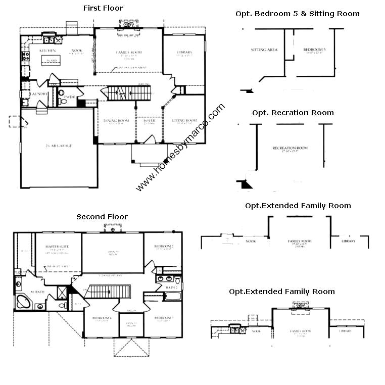 Sterling model in the grants grove subdivision in for Sterling plan