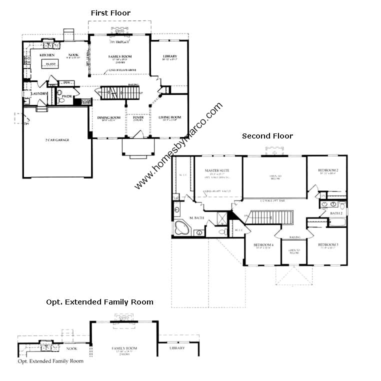 Sterling model in the hampton reserve subdivision in for Sterling plan