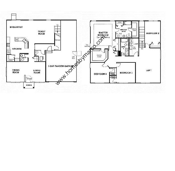 Sterling model in the churchill club subdivision in oswego for Sterling plan