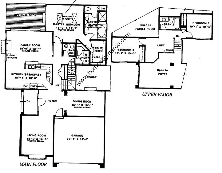 Sterling model in the enclave subdivision in arlington for Sterling plan