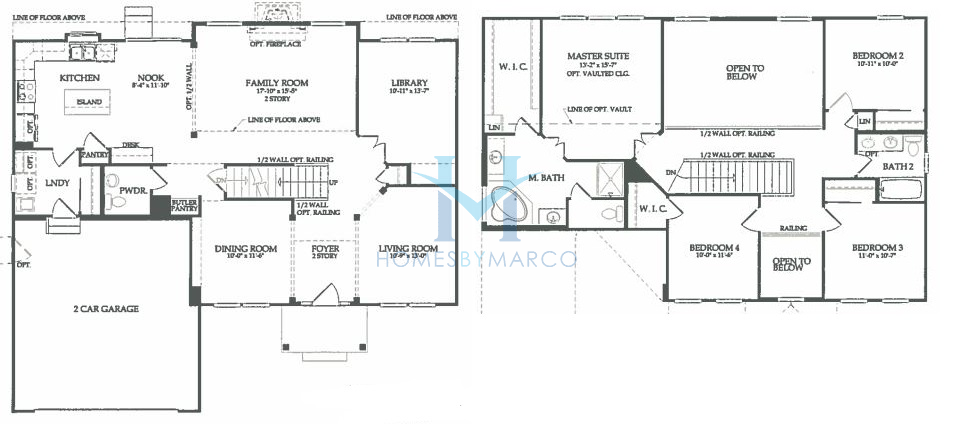 Sterling model in the autumn creek subdivision in for Sterling plan