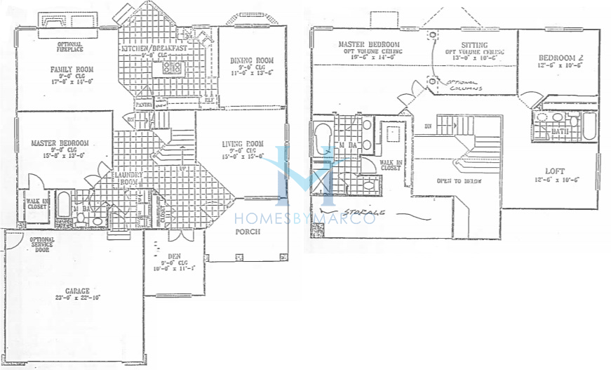 Sterling model in the thorngate subdivision in riverwoods for Sterling plan
