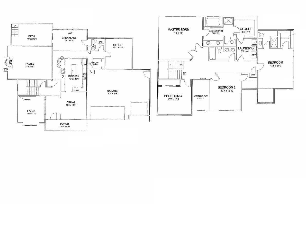 Stratford model in the providence ridge subdivision in for Stratford homes floor plans