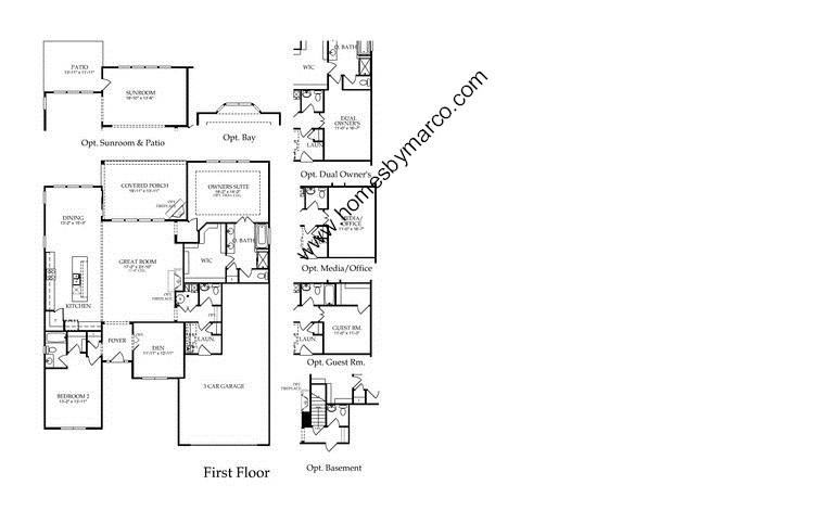 Sullivan model in the grand dominion subdivision in for Sullivan floor plan