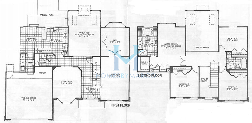 Summit model in the windsor ridge subdivision in buffalo for Summit homes floor plans