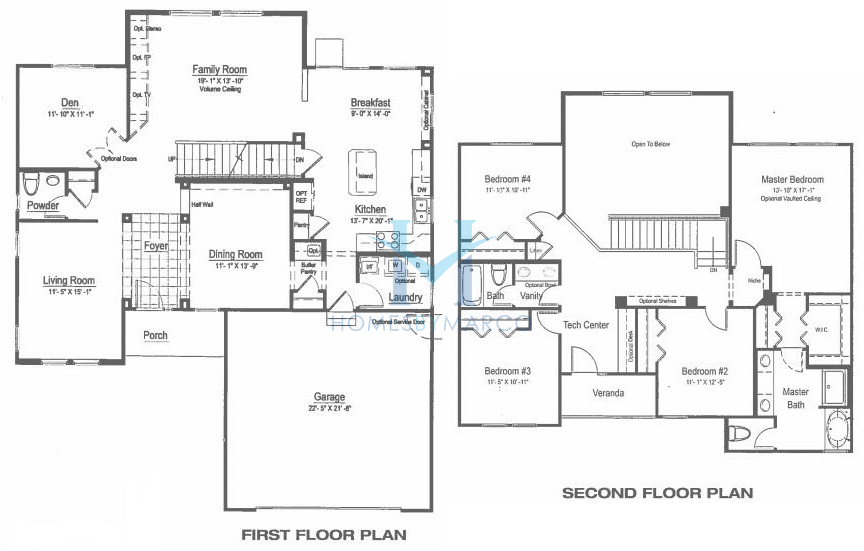 Homes By Marco Floor Plans: Sutton Model In The Remington Pointe Subdivision In Volo