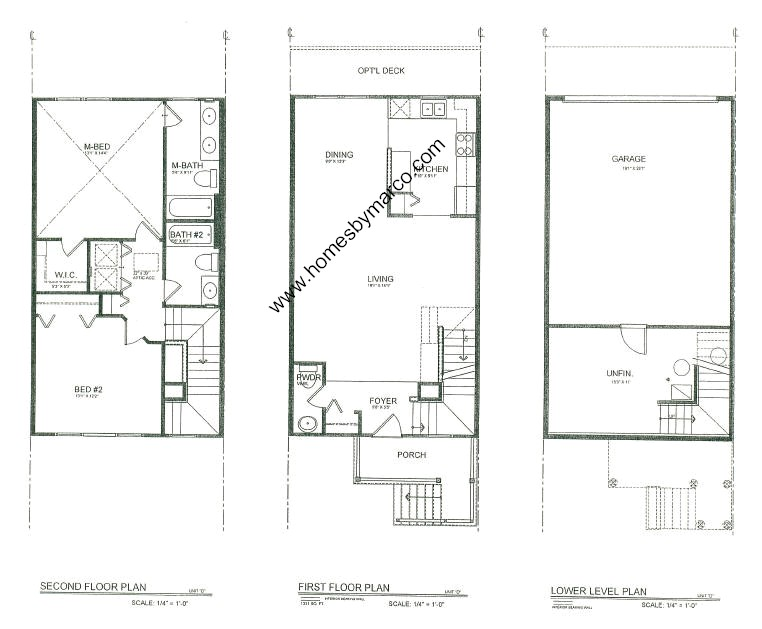 Homes By Marco Floor Plans: Summit Enclave Subdivision In DeKalb, Illinois, Homes For
