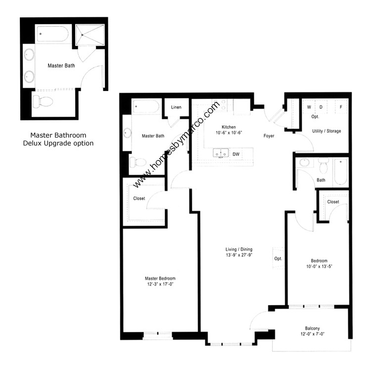 Units 309 409 509 609 b4 model in the cardinal square for 509 plans
