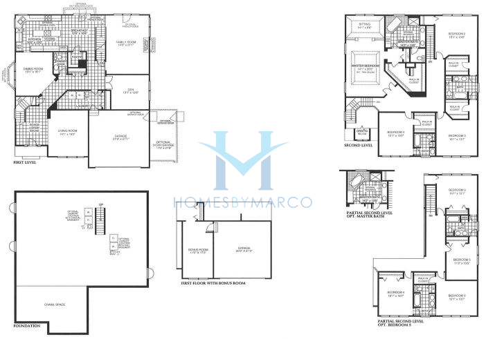 Homes By Marco Floor Plans: Victoria Model In The Lakewood Valley Subdivision In