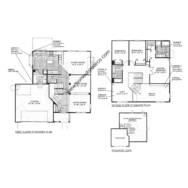 Warwick model in the oakwood subdivision in grayslake for Subdivision house plans