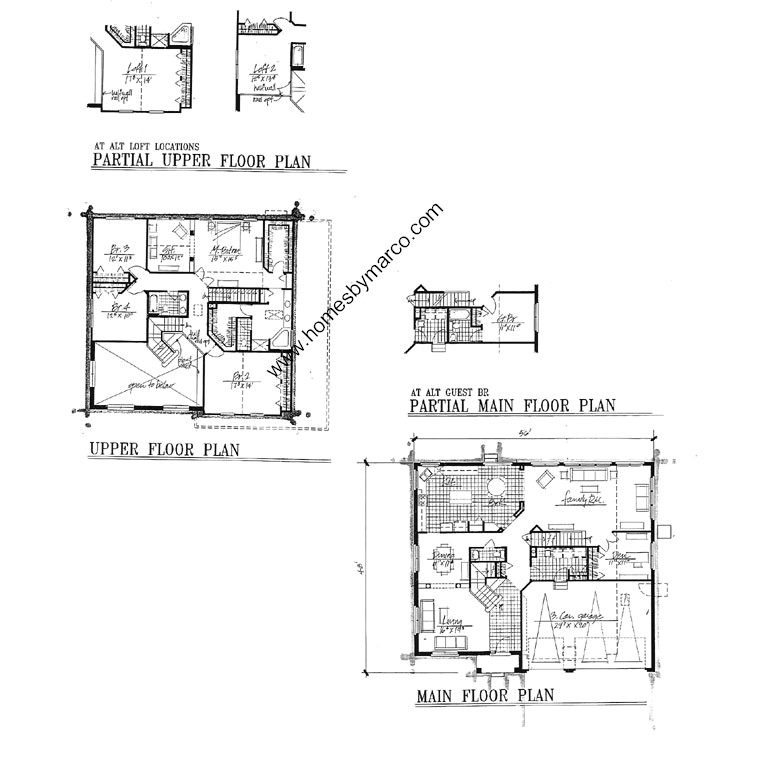 Waterford model in the augusta green subdivision in vernon for Builders plan service augusta ga