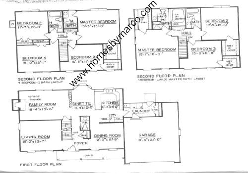 Westchester model in the randall square subdivision in for 1120 westchester place floor plan