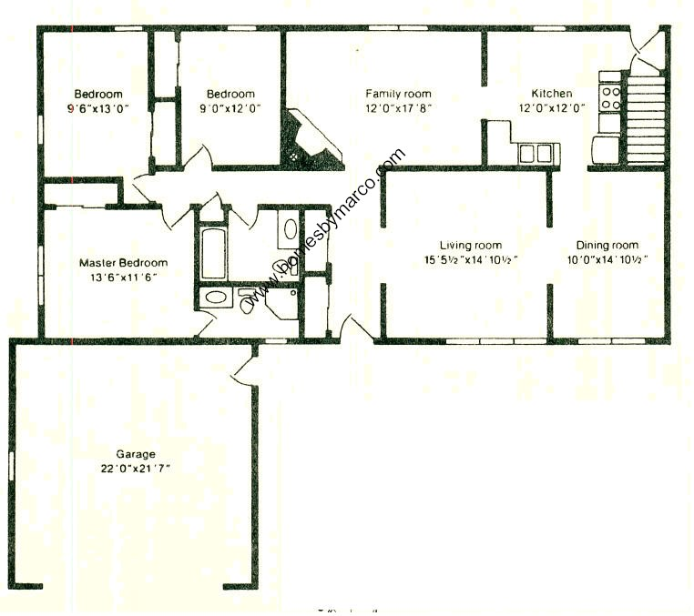 Western cambridge i model in the 14th colony subdivision for Western homes floor plans