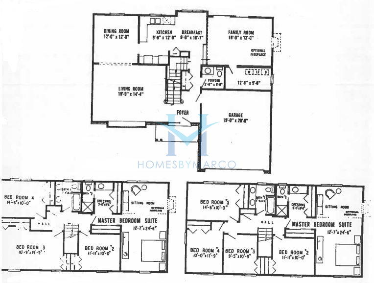 Westminster model in the cambridge subdivision in for Subdivision house plans