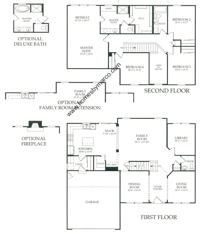 floor plans cabins wilshire model in the auburn lakes subdivision in 11715