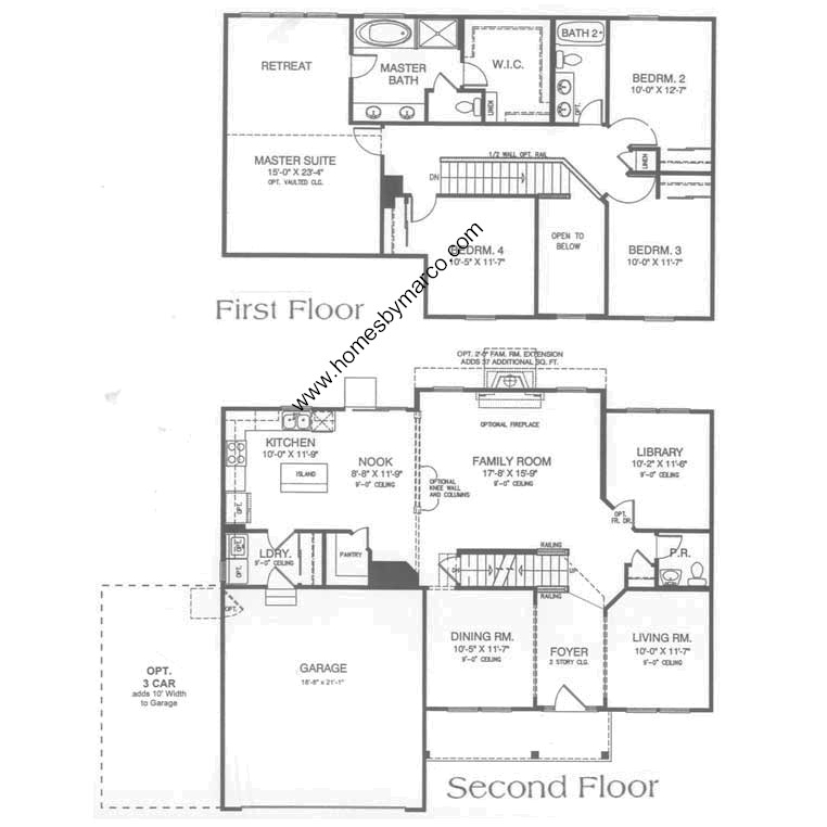 Stratton oaks subdivision in lake villa illinois homes for Wilshire homes floor plans