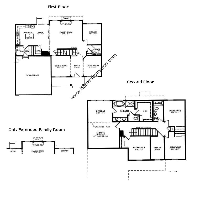 Wilshire model in the hampton reserve subdivision in for Wilshire homes floor plans