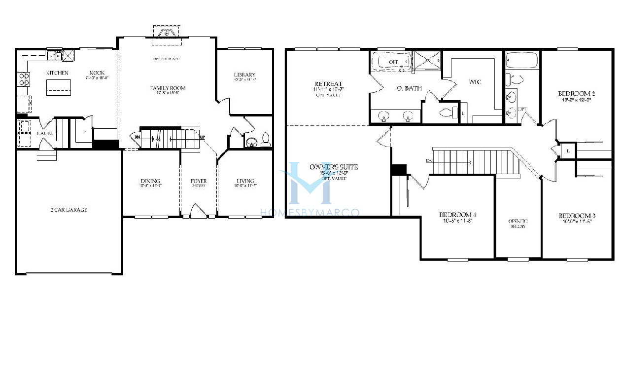Wilshire Homes Floor Plans