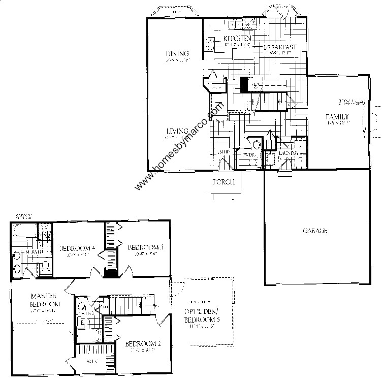 Winchester Model In The Country Place Subdivision In