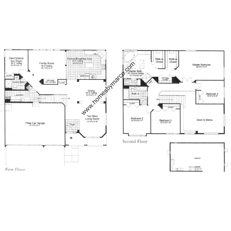 Windsor model in the cambria subdivision in cary illinois for Windsor homes floor plans