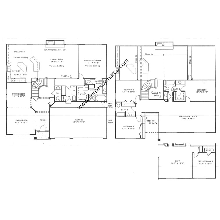 Winsford model in the regency woods subdivision in for Regency house plans