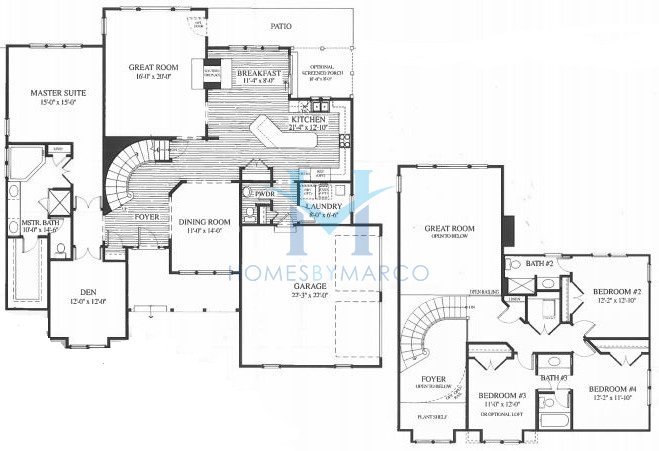 Wyndham Model In The Merit Club Subdivision In