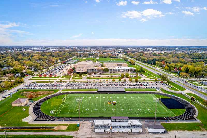 Photos of Hinsdale South High School