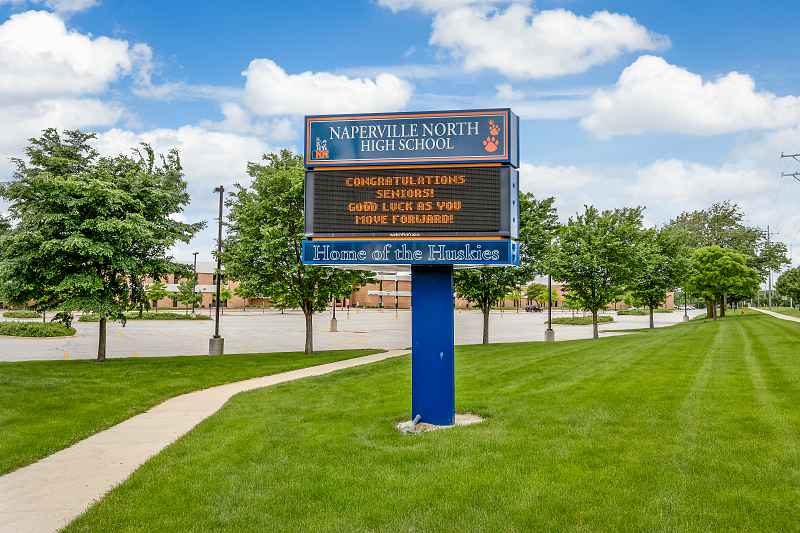 Photos of Naperville North High School