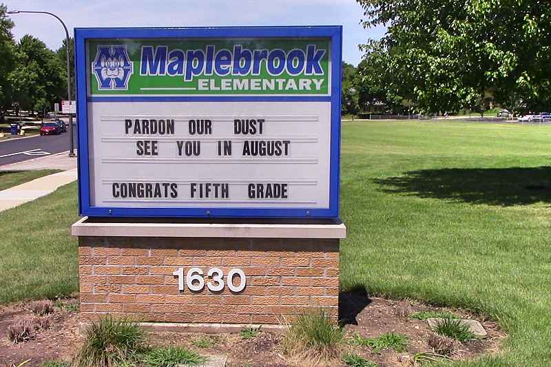 Photos of Maplebrook Elementary School
