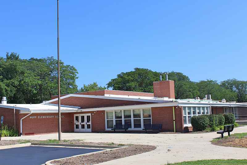 Photos of Huff Elementary School