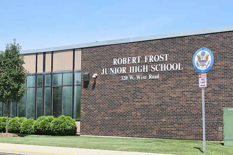 Photos of Robert Frost Junior High School