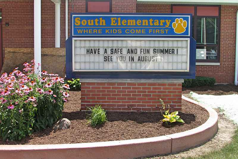 Photos of South Elementary School