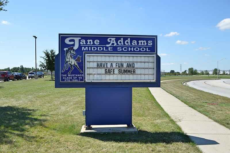 Photos of Jane Addams Middle School