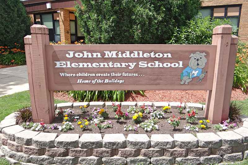 Photos of John Middleton Elementary School