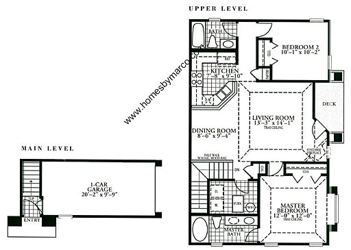 Holiday Home Builders Floor Plans: Amelia Model In The Holiday Park Subdivision In Fox Lake