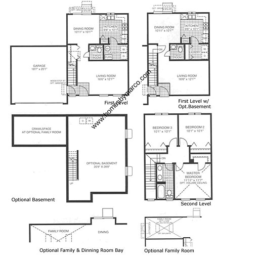 Barclay model in the lakewood creek subdivision in for Barclay home design