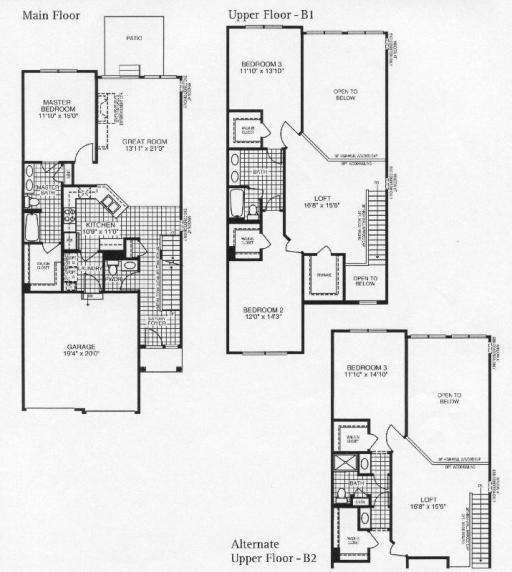 Deerbrook Apartments: Bayberry Model In The Deerbrook Place Subdivision In