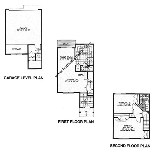 Brentwood model in the college trail subdivision in for Brentwood floor plan