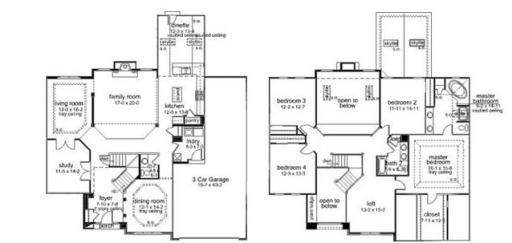 Homes By Marco Floor Plans: Briarstone Model In The Heritage Oaks Subdivision In