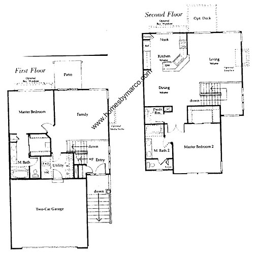 Capri ii model in the tenerife subdivision in buffalo for Capri floor plan