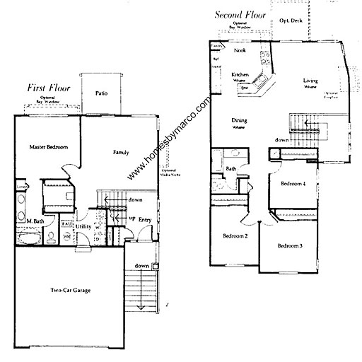 Capri iii model in the tenerife subdivision in buffalo for Capri floor plan